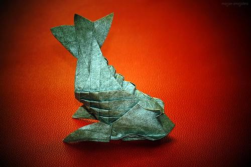 Origami Shachihoko (Fumiaki Kawahata)