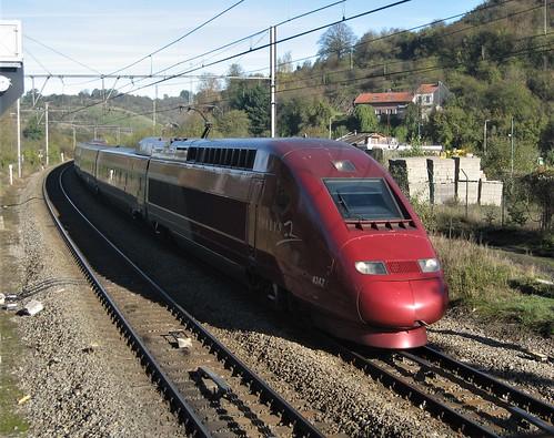 Thalys PBKA Köln - Paris en passage à Dolhain Gileppe