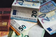 EURO Cash Money Banknote