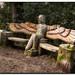 (24) image - Back Walk Wooden Sculpture