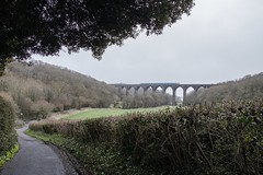 Composition - Putting what I've read into practice: Porthkerry Viaduct, Barry, south Wales