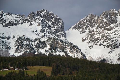 Winter in the Kaisergebirge