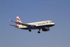 G-MEDK A320 British airways Arrecife 28-02-20
