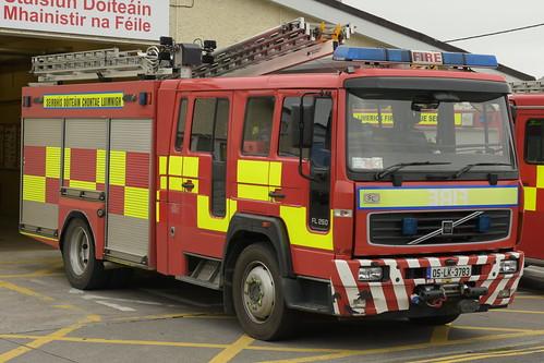 Limerick Fire & Rescue Service 2005 Volvo FL250 Sidhean Teo WrL 05LK3783
