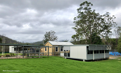 New Demountable Buildings Following the Rumba Dump Fire, Bobin Primary School, West of Wingham NSW 8th November 2019