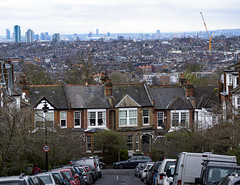 View from Hillfield Park, Muswell Hill