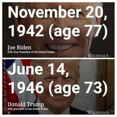 Old white men #POTUS 🇺🇸 #Biden #Trump