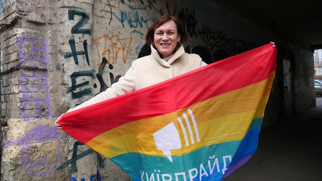 Photo:Anastasiia Yeva Domani: How a transgender woman in Ukraine fought for her rights and discovered the activist within her By UN Women Europe and Central Asia