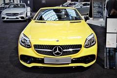 Mercedes SLC (gelb) Photo 2020 Free image