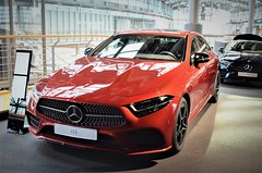 Mercedes CLS 400d 4MATIC (rot) Photo 2020 Free image