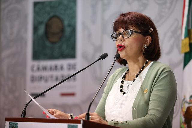 10/03/2020 Conferencia de Prensa Dip. Claudia Yáñez Centeno