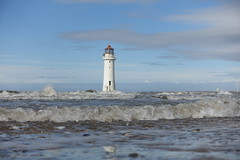 New Brighton lighthouse.