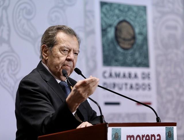 10/03/2020 Conferencia de Prensa Dip. Porfirio Muñoz Ledo