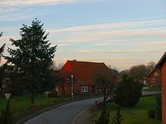 Gegen Abend - Dorfblick | 11. März 2020 | Tarbek - Schleswig-Holstein - Deutschland