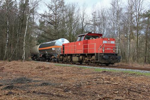 DB Cargo 6417 @ Delden