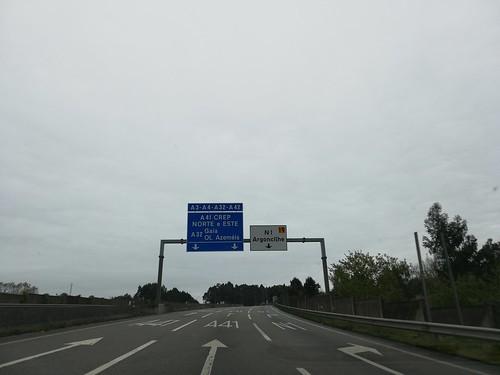 A41 - saída Argoncilhe