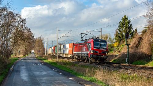 Elten RFO 193 627 (Railogix) Duisburg Shuttle
