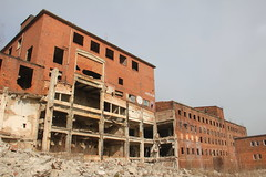 Former Celwiskoza chemical plant
