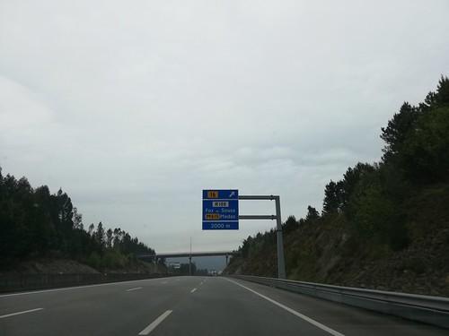 A41 - saída Foz do Sousa