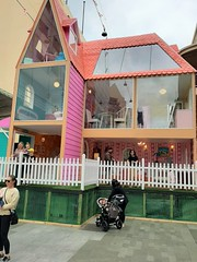 Adelaide. The three storey Dolls House erected in Rundle Mall for the duration of the Adelaide Festival of Arts.
