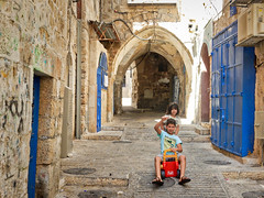 Palestinian territories, East Jerusalem - The Old City as a playground - August 2017