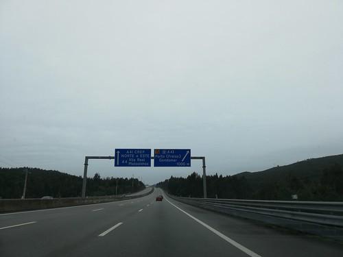 A41 - saída A43