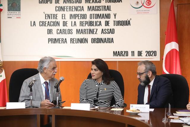 11/03/2020 Grupo de Amistad México-Turquía