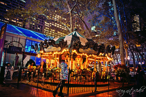 At Bryant Park's Halloween Le Carrousel Midtown Manhattan New York City NY P00464 DSC_3612