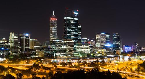 Perth: Downtown skyline