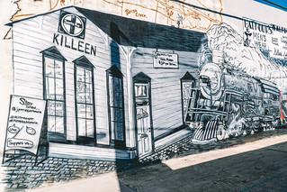 Gray Street Mural Ribbon Cutting