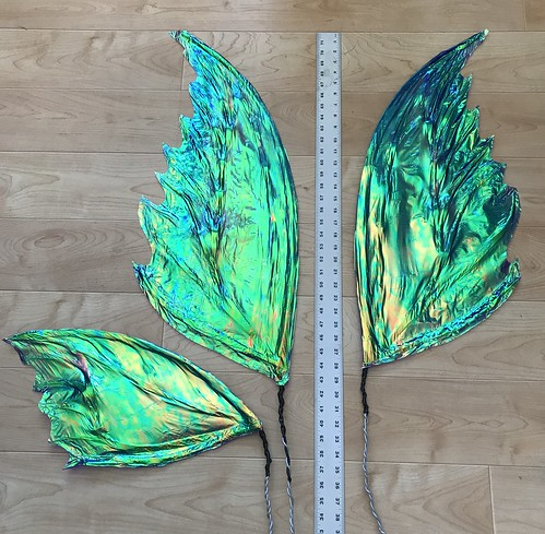 Fairy costume progress pictures