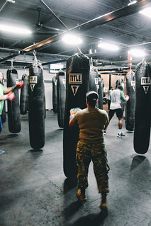 Boxing & Bonding with TITLE Boxing club