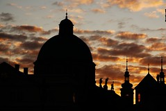 Sunrise in Prage