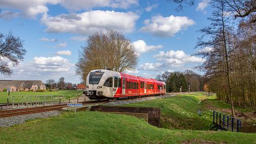Ruurlo Arriva GTW 365 trein 30844 Zutphen