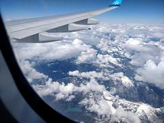 Coast Mountains from a transatlantic flight