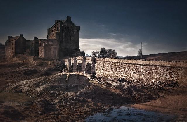 The Bridge to Eilean Donan Castle.