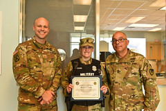 USAG Humphreys Provost Marshal Office (PMO) Officer of the Month - U.S. Army Garrison Humphreys, South Korea - 12. Mar. 2020