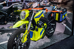 Polizei-Motorrad von Zero Motorcycles