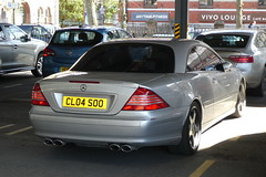 Mercedes-Benz CL500 (2004)