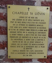 Erchin chapelle St Lievin (2) - Photo of Rieulay