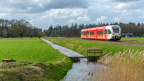 Ruurlo Arriva GTW 367 stoptrein 30845 Winterswijk