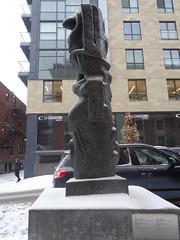 Henry Moore, Motif vertical No.5.
