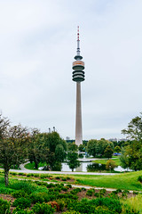 Munich olympic park tower