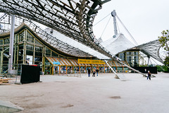 Entrance to the Munich Olympiastadion