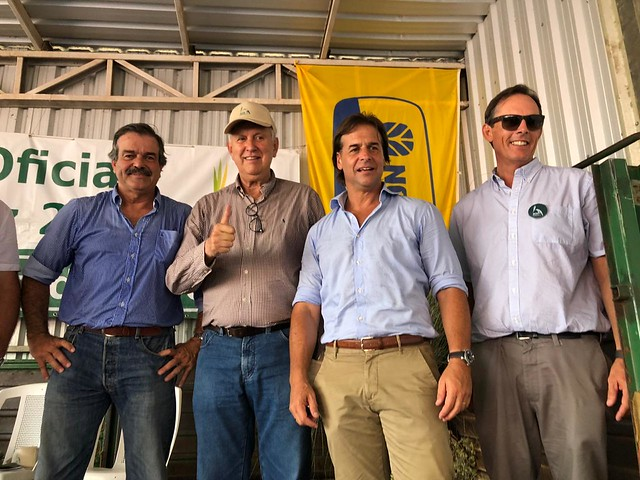 13/03/2020 Abertura da colheita do arroz em Bella Unión, no Uruguai