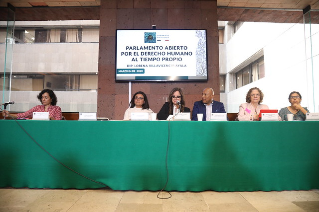 """04/03/2020 """"Por el Derecho Humano al Tiempo Propio"""""""