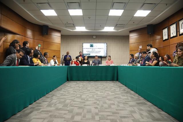 05/03/2020 Comisión de Cultura Entrega de Reconocimientos