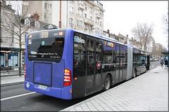 Mercedes-Benz Citaro G – Keolis Tours / Fil Bleu n°345