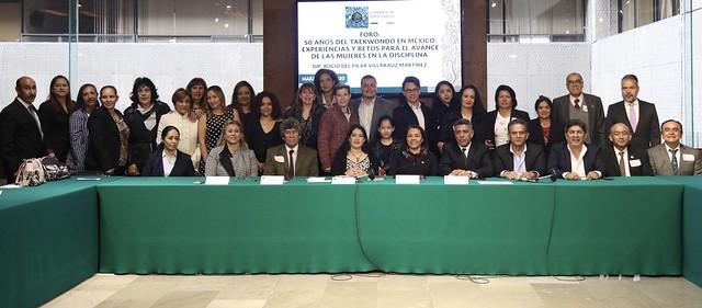 06/03/2020 Foro 50 años del Taekwondo en México