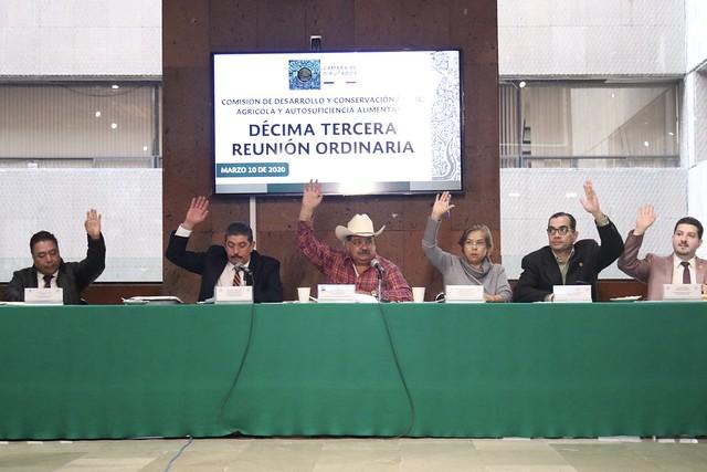 10/03/2020 Comisión de Desarrollo y Conservación Rural